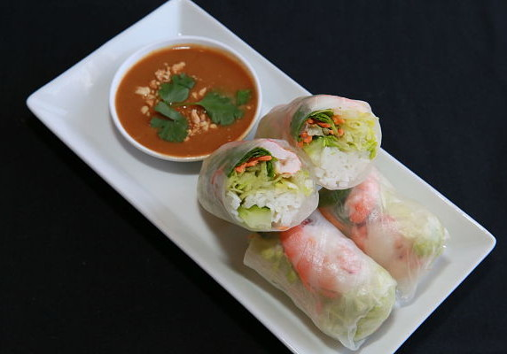 Spring roll with Shrimp
