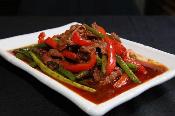 Pad Prik Khing with Beef